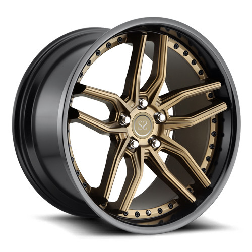18-22 inch custom 2 piece forged deep lip concave wheels rim for luxury car