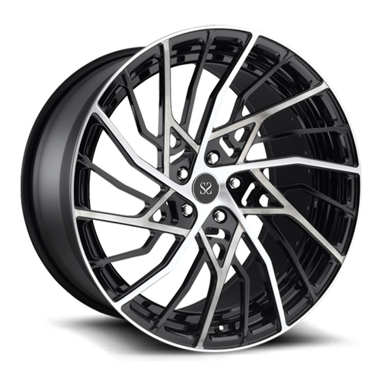 PCD 108mm 21inch Two Piece Forged Wheels For Lamborghini
