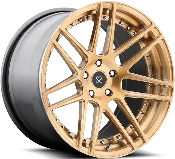 Classical Staggered  22inch 2-Piece Forged Wheels For Auid RS6